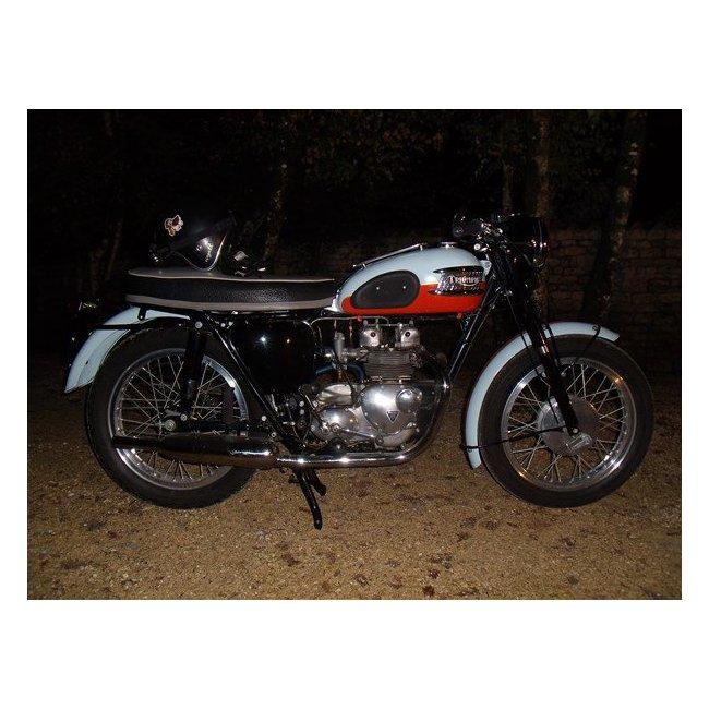 moto vendues triumph t 100 hound motorcycle. Black Bedroom Furniture Sets. Home Design Ideas