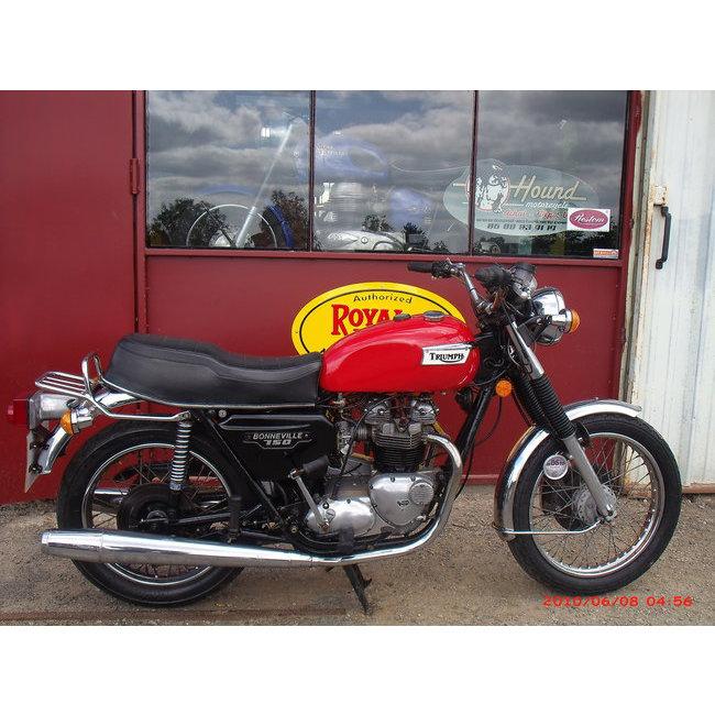 moto vendues triumph bonneville 1979 hound motorcycle. Black Bedroom Furniture Sets. Home Design Ideas