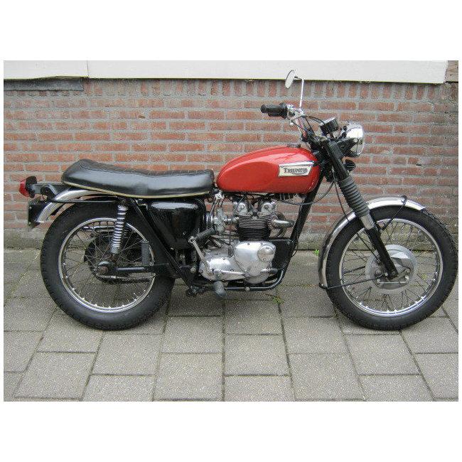 moto vendues triumph t100 trophy hound motorcycle. Black Bedroom Furniture Sets. Home Design Ideas