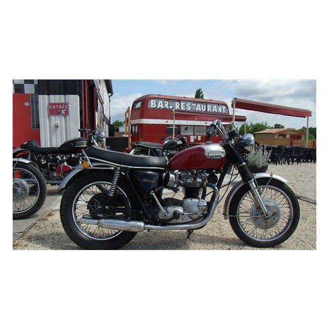 moto vendues triumph bonneville 1968 hound motorcycle. Black Bedroom Furniture Sets. Home Design Ideas