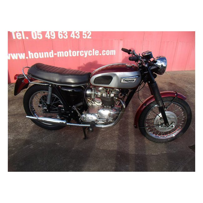 moto vendues triumph tr6 hound motorcycle. Black Bedroom Furniture Sets. Home Design Ideas