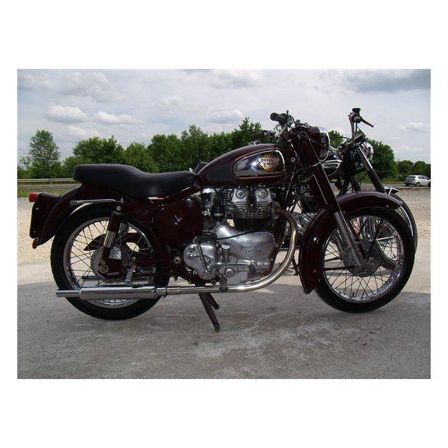 moto vendues royal enfield supe meteor hound motorcycle. Black Bedroom Furniture Sets. Home Design Ideas