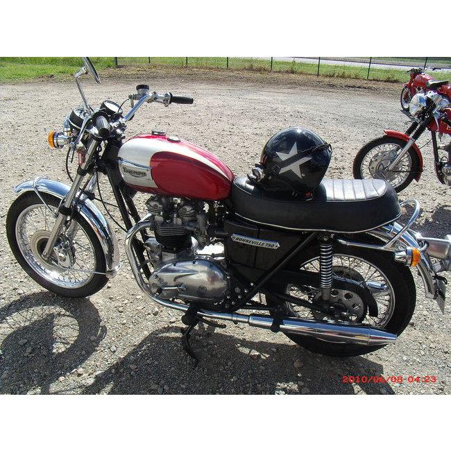 moto vendues triumph t140 bonneville hound motorcycle. Black Bedroom Furniture Sets. Home Design Ideas