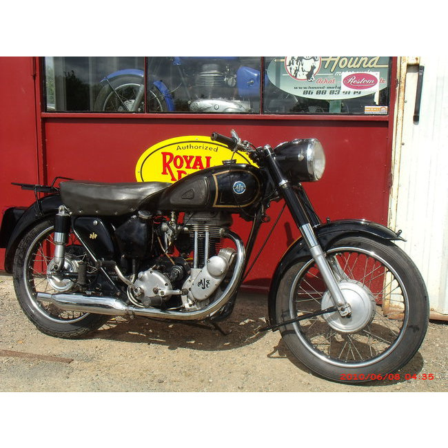 moto vendues ajs 16 m hound motorcycle. Black Bedroom Furniture Sets. Home Design Ideas