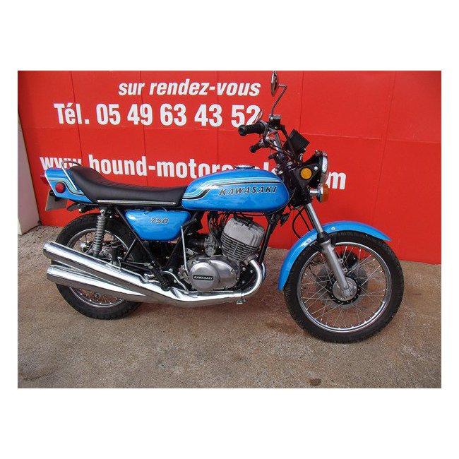 moto vendues kawasaki 750 h2 hound motorcycle. Black Bedroom Furniture Sets. Home Design Ideas